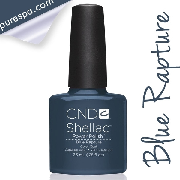 CND Shellac Fall 2013 Forbidden Collection - Blue Rapture / 0.25 oz. - 7.3 mL