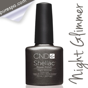 CND Shellac Fall 2013 Forbidden Collection - Night Glimmer/ 0.25 oz. - 7.3 mL