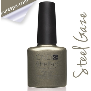 CND Shellac Fall 2013 Forbidden Collection -Steel Gaze / 0.25 oz. - 7.3 mL