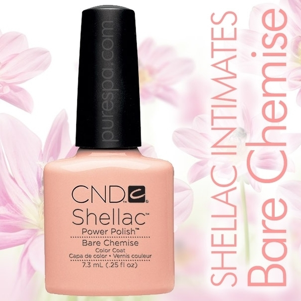 In Stock! CND Shellac 2013 Intimates Collection  / Bare Chemise