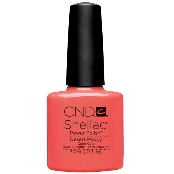 CND Shellac Open Road Collection Spring 2014 - Desert Poppy 0.25 oz. - 7.3 mL (768894)