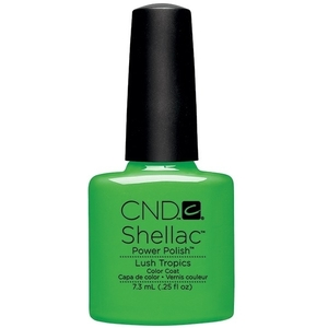 CND SHELLAC Lush Tropics - Paradise Summer Collection 2014 0.25 oz. (768913)