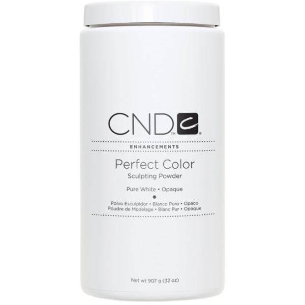 CREATIVE NAIL DESIGN White Perfect Color Powder