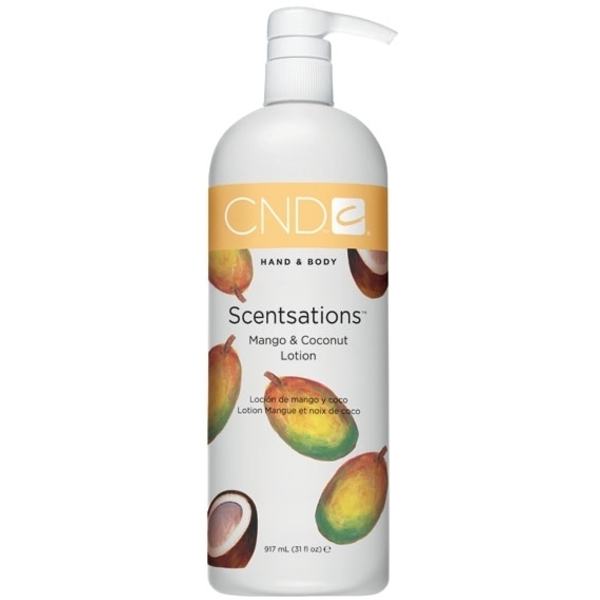 CND Creative Scentsations Hand & Body Lotion 31 oz. Mango & Coconut (769716)
