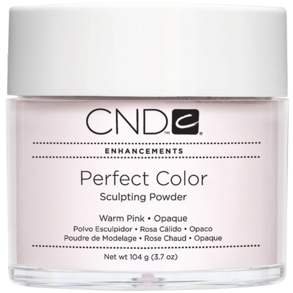 CND Perfect Color Sculpting Powder Warm Pink - Opaque 3.7 oz. (769748)