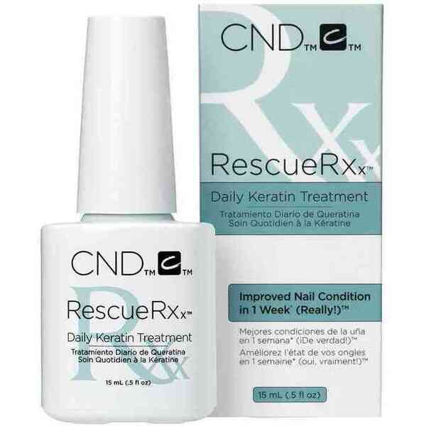 CND RescueRXx Daily Keratin Oil Treatment 0.5 oz. (769775)