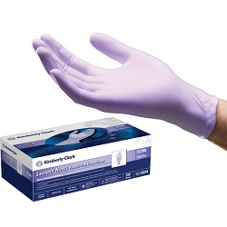 Kimberly-Clark Lavender Powder-Free Nitrile Gloves Medium 250 Count (786064)
