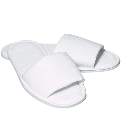 FOR PRO Waffle Weave Slippers 1 Pair (800117)