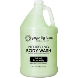 Nourishing Body Wash Green Tea Lemongrass 1 Gallon (800332)