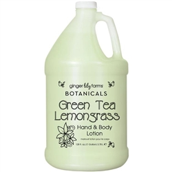 Hand & Body Lotion Green Tea Lemongrass 1 Gallon (800342)