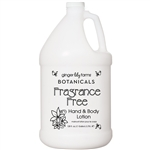 Hand & Body Lotion Fragrance Free 1 Gallon (800358)