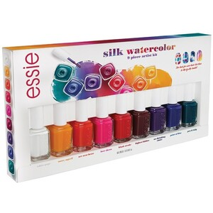 Essie Silk Watercolors Designer Artist Kit 9 Pieces (994278)