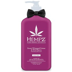 Hempz Herbal Body Moisturizer Sweet Whipped Creme & Wild Berry 17 oz. (999577)