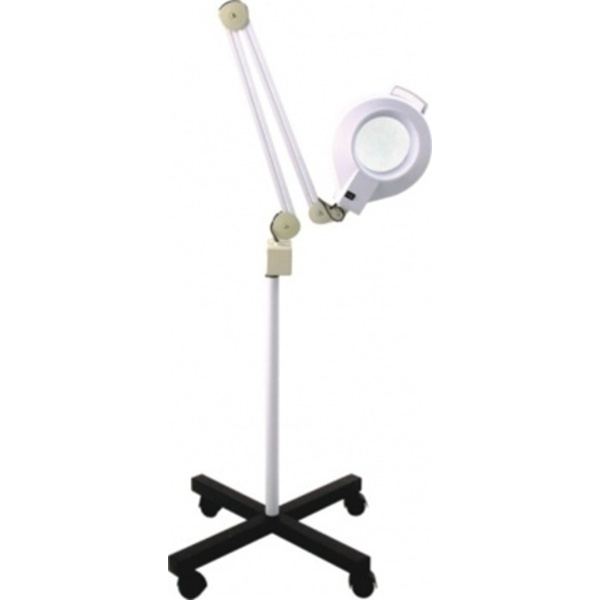 Alvida 5X Round Mag Lamp with Stand 