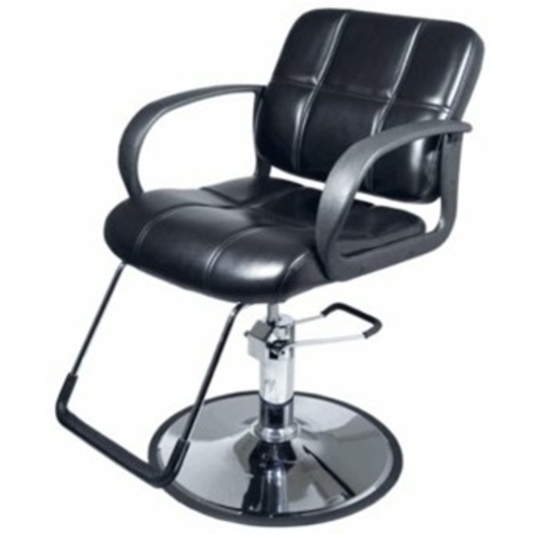 Encore Antonio Styling Chair Round Base (H-1801BKR)
