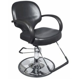 Encore Luca Styling Chair Round Base (H-1818BKR)