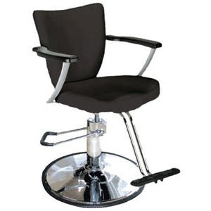 Encore Giuliano Styling Chair Round Base (H-1903BKR)