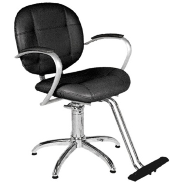 Encore Taddeo Styling Chair Star Base (H-2116BKS)
