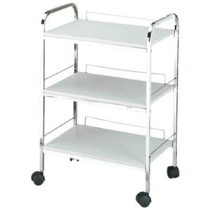 Encore 3 Shelf Roll About Beauty Trolley (H-2703)