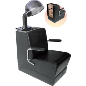 Encore Black Dryer Chair with Cushion Handles (H-431)