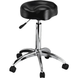 Encore Pneumatic Bicycle Shape Technician Chair Black (H-9171BK)