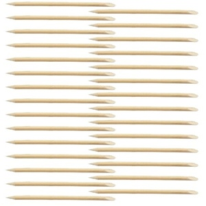 Encore Cuticle Pusher Wood Stick 3 Inch 20000 Mega Pack (CWS-3)