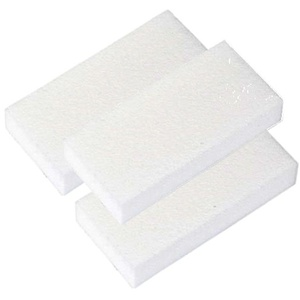 Encore Slim White Buffer Block 100/180 Grit - 495 Count Mega Case (WB-SW45)