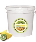 Ikonna Kiwi Pineapple Mineral & Dead Sea Salt Pedicure Scrub 2.5 Gallons (S25-GKP)