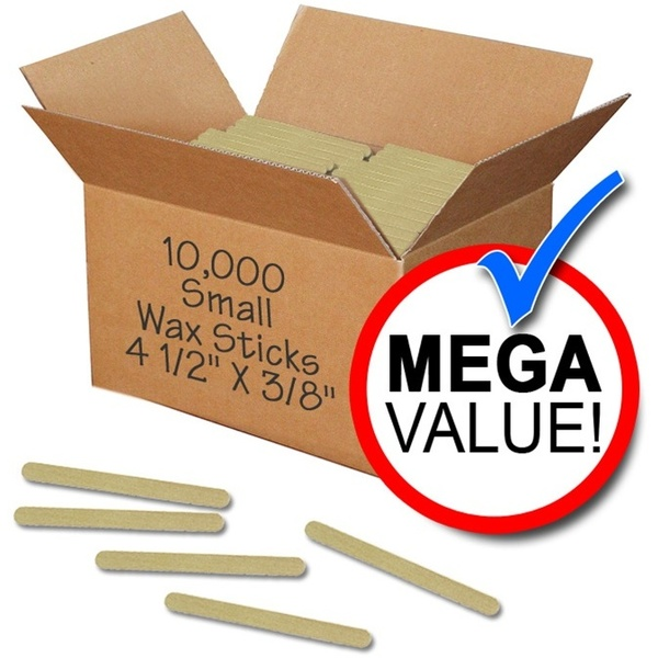 "Waxing Applicators - Small - 4.5"" X 38"" - 10000 Mega Pack Case (WSS 10)"