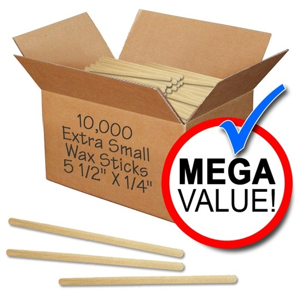 "Waxing Applicators - Extra Small - 5.5"" X 14"" - 10000 Mega Pack Case (WSXS 10)"