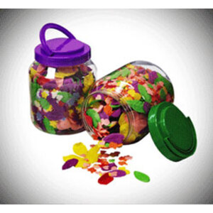 Confetti Pedicure Soap Case of 12 Tubs - 12 Gallon Each (S1-PSC)