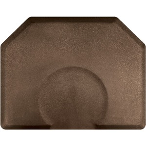4'x5' Granite Collection Salon Mat with Chair Depression in Granite Copper (SS4050X75GC)