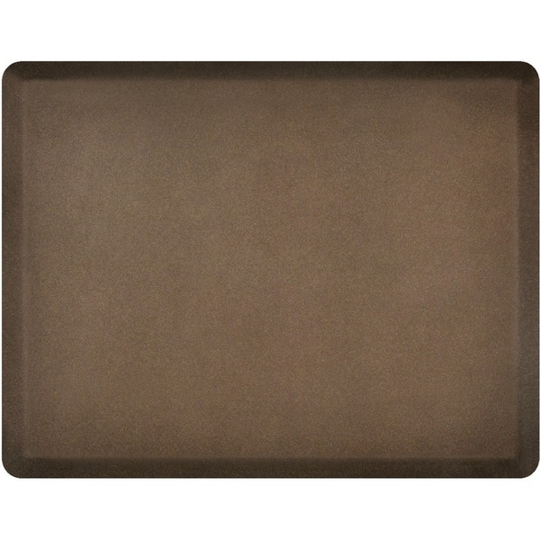 4'x5' Granite Collection Salon Mat without Chair Depression in Granite Copper (SS4050BN75GC)