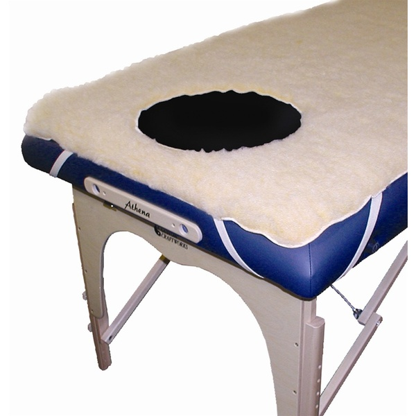 Specialty Fleece Pad - Crescent Face Hole (FP-CRFH)