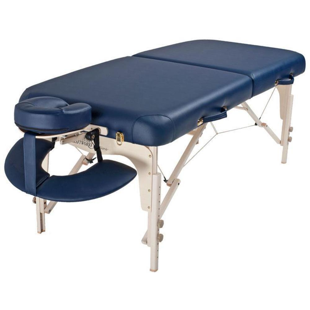 Luxor portable massage table solutions series i9359 for Massage table
