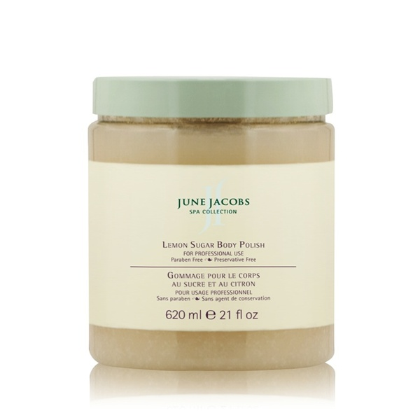 Lemon Sugar Body Polish - 620 mL / 21 fl. oz. by June Jacobs Spa Collection