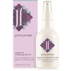 Peppermint Moisturizing Foot Mist - 206 mL / 6.7 fl. oz. by June Jacobs Spa Collection