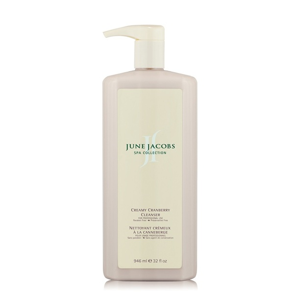 Creamy Cranberry Cleanser - 946 mL / 32 fl oz. by June Jacobs Spa Collection
