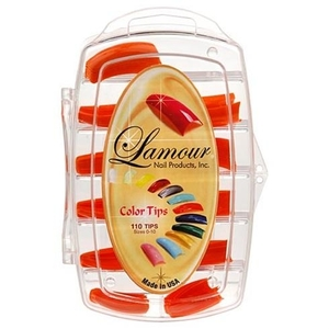 Lamour Colored Nail Tip # L-4 Box of 110 (110235)