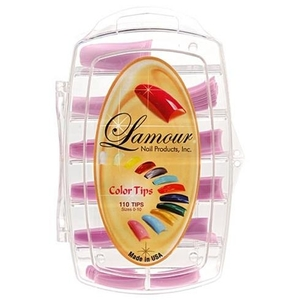 Lamour Colored Nail Tip # L-7 Box of 110 (110236)