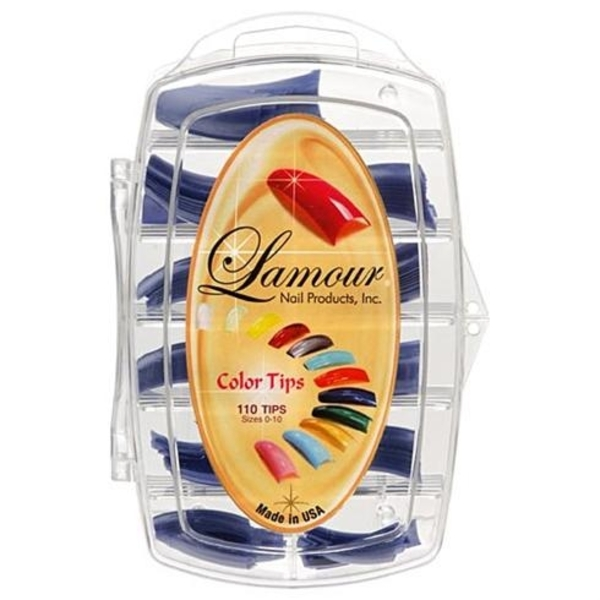 Lamour Colored Nail Tip # L-15 Box of 110 (110243)