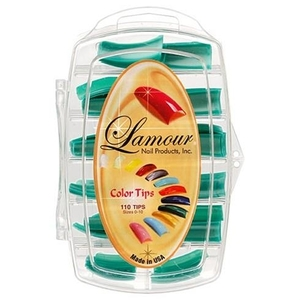 Lamour Colored Nail Tip # L-16 Box of 110 (110244)
