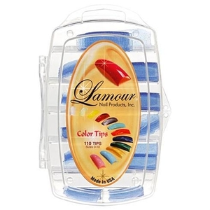 Lamour Colored Nail Tip # L-24 Box of 110 (110249)