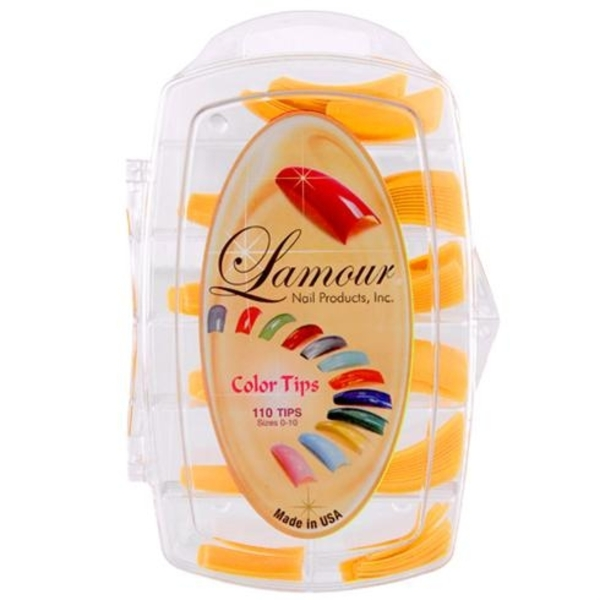 Lamour Colored Nail Tip # L-55 Box of 110 (110311)