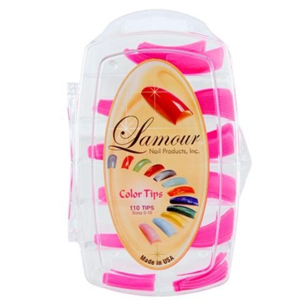 Lamour Colored Nail Tip # L-58 Box of 110 (110312)