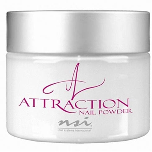 NSI Attraction Acrylic Powder - Radient White 8.8 oz. (110705)