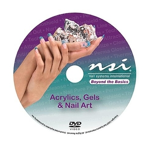 NSI Beyond The Basics: Acrylics Gels & Nail Art Instructional DVD (110717)