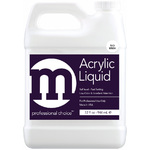 M Professional Choice - No MMA Acrylic Nail Liquid - Low Odor - Superior Strength - 1 Gallon (4 x 32 oz.) (118006)