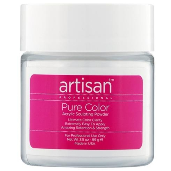 Artisan Brilliant White Acrylic Nail Powder 3.5 oz. (119024)
