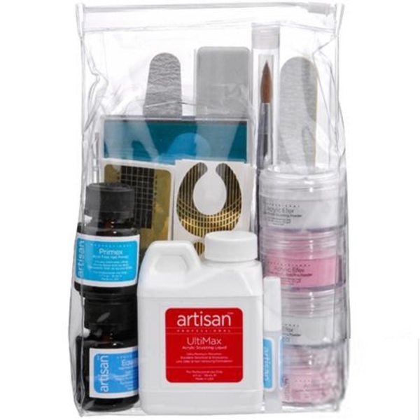 Complete Professional Acrylic Nail Kit - Kit (119066)